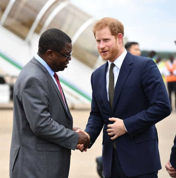 Prince Harry visit to Zambia